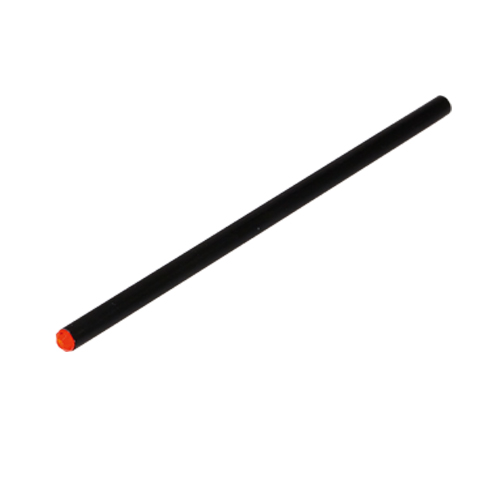 Lápiz madera negra rojo - RGregalos