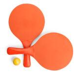 Palas playa madera colores naranja - RGregalos