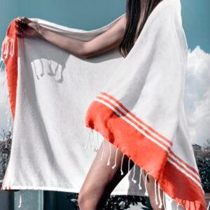 Pareo toalla borde color detalle - RGregalos