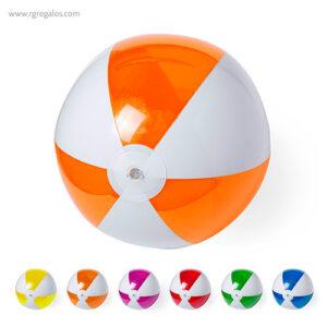 Pelota de playa personalizada bicolor - RG regalos publicitarios