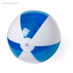 Pelota de playa personalizada bicolor azul - RG regalos publicitarios