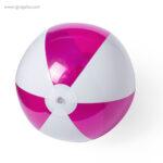 Pelota de playa personalizada bicolor fucsia - RG regalos publicitarios