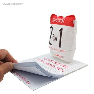 Publiairbag con bloc de notas lateral _ RG regalos publicitarios