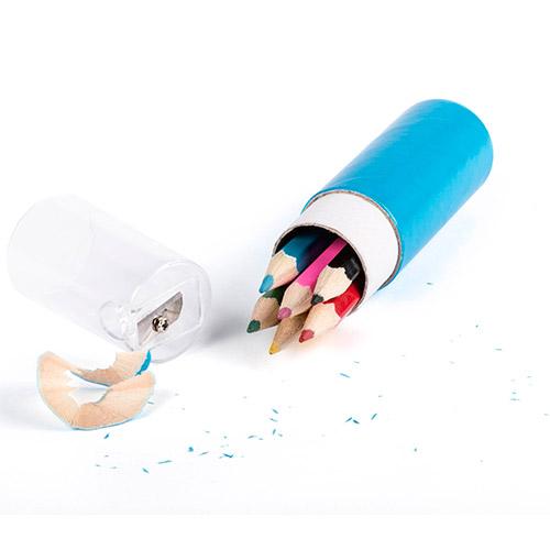 Set lápices colores 7 piezas detalle - RGregalos