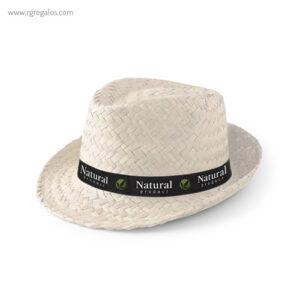 Sombrero de paja económico blanco - RG regalos publicitarios