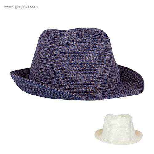 Sombrero de paja elástica colores - RG regalos publicitarios
