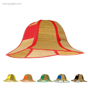 Sombrero de paja plegable - RG regalos publicitarios