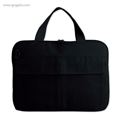 Bolsa para portátil de 14 negra - RG regalos publicitarios