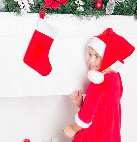 Calcetin navidad colgado - RG regalos publicitarios