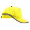 Gorra bandas reflectantes amarilla - RGregalos