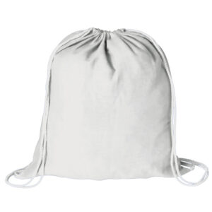 Mochila plana 100% algodón blanca - RGregalos