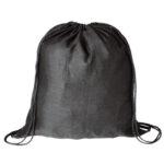 Mochila plana 100% algodón negra - RGregalos