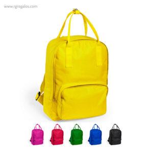 Mochila poliéster 600D colores - RG regalos publicitarios