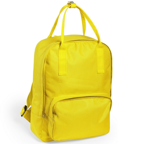 Mochila poliéster 600D colores amarilla - RGregalos