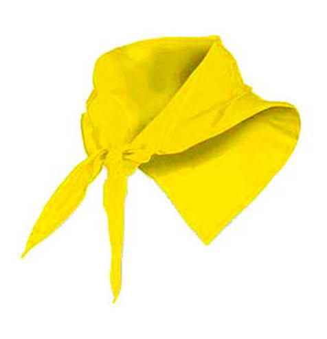 Pañuelo fino triangular amarillo - RGregalos