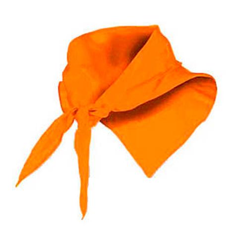 Pañuelo fino triangular naranja - RGregalos