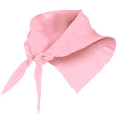 Pañuelo fino triangular rosa - RGregalos