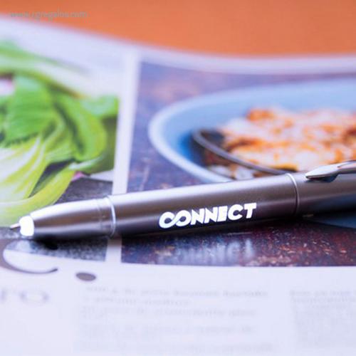 Bolígrafo puntero con luz led detalle - RG regalos publicitarios