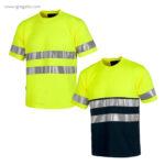 Camiseta-alta-visibilidad-combinada-o-lisa-colores-RG-regalos