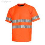 Camiseta-alta-visibilidad-combinada-o-lisa-naranja-RG-regalos