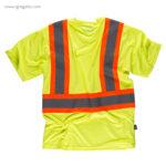 Camiseta alta visibilidad con bolsillo amarilla MC - RG regalos publicitarios