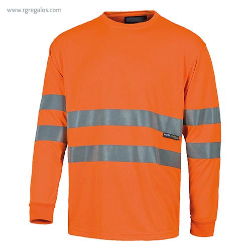 Camiseta-alta-visibilidad-manga-larga-naranja-RG-regalos