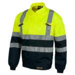 Cazadora alta visibilidad 211 amarillo y marino - RG regalos publicitarios