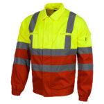 Cazadora alta visibilidad 211 amarillo y rojo - RG regalos publicitarios