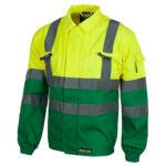 Cazadora alta visibilidad 211 amarillo y verde - RG regalos publicitarios