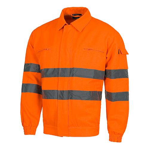 Cazadora alta visibilidad 910 naranja - RG regalos publicitarios