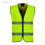 Chaleco alta visibilidad 610 amarillo - RG regalos publicitarios