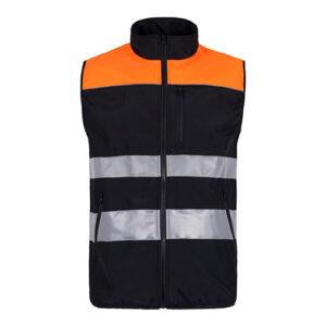 Chaleco alta visibilidad 921 naranja- RG regalos publicitarios