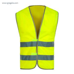 Chaleco alta visibilidad T01 amarillo - RG regalos publicitarios