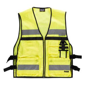 Chaleco alta visibilidad multibosillos amarillo - RG regalos publicitarios