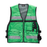 Chaleco alta visibilidad multibosillos verde - RG regalos publicitarios