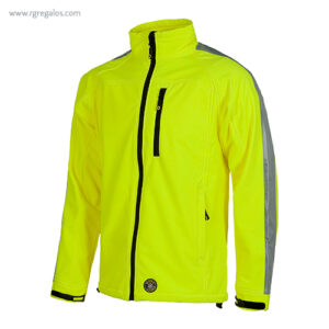 Chaqueta alta visibilidad S530 amarilla - RG regalos publicitarios