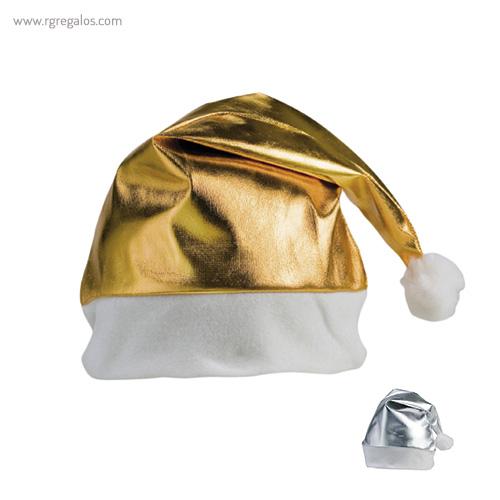 Gorro navidad metalizado - RG regalos publicitarios