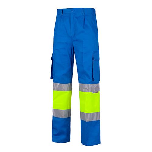 Pantalón alta visibilidad 018 azul - RG regalos publicitarios