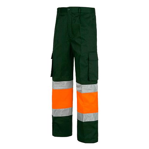 Pantalón alta visibilidad 018 verde naranja - RG regalos publicitarios