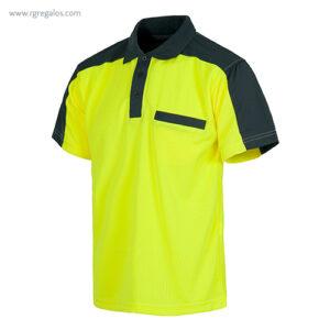 Polo alta visibilidad C805 amarillo - RG regalos publicitarios