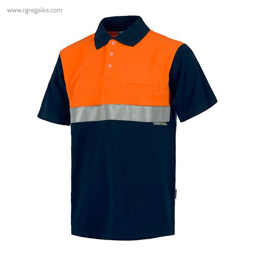 Polo alta visibilidad C841 naranja MC - RG regalos publicitarios