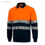 Polo alta visibilidad C870 naranja MC - RG regalos publicitarios
