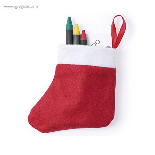 Set navidad para colorear - RG regalos publicitarios