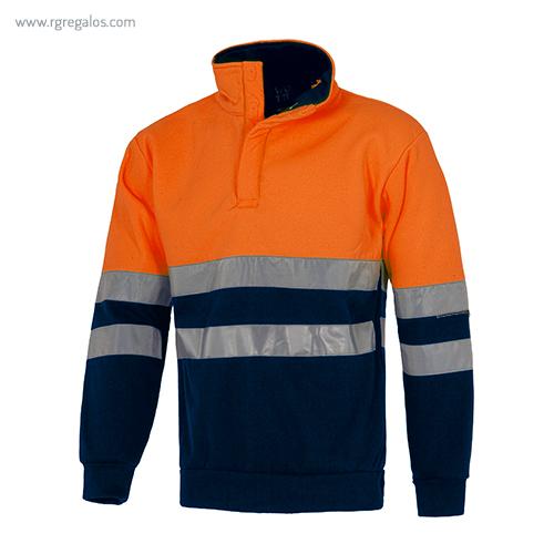 Sudadera alta visibilidad naranja - RG regalos publicitarios