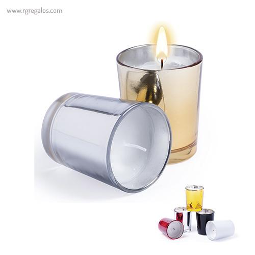 Vela aromática personalizada - RG regalos publicitarios