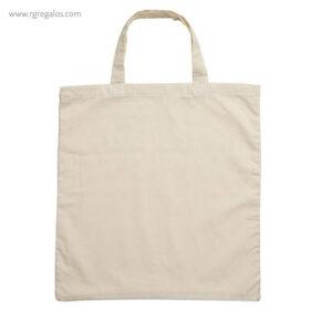 Bolsa 100% algodón ecológica asas cortas 1- RG regalos publicitarios