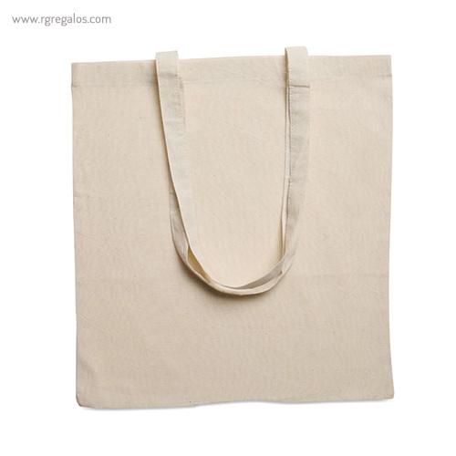 Bolsa-100%-algodón-ecológica-asas-largas-detalle-RG-regalos