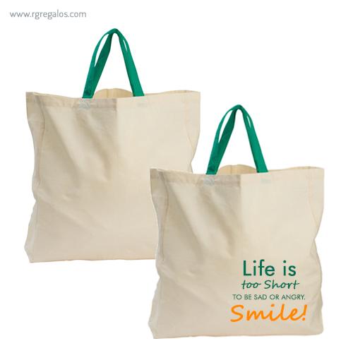 Bolsa algodón orgánico - RG regalos publicitarios