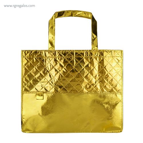 Bolsa non woven laminado dorado - RG regalos publicitarios