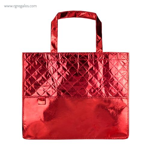 Bolsa non woven laminado rojo - RG regalos publicitarios
